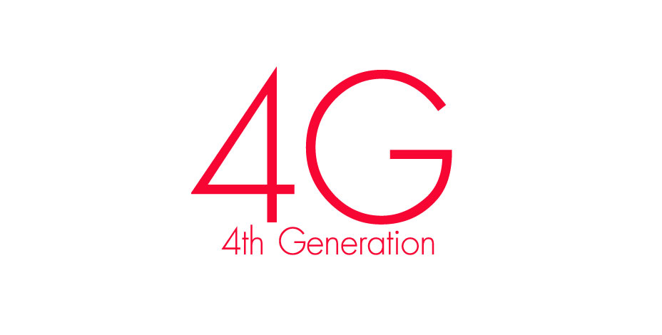 4G 4th Generation Logo