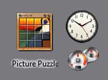 windows-7 widgets