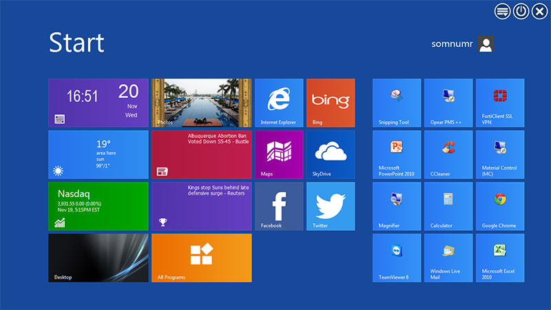 WinMetro windows 8 metro ui