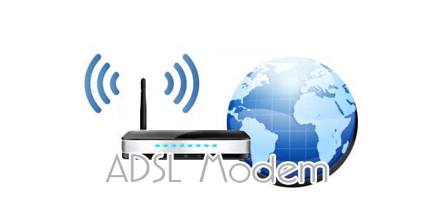 connect internet adsl