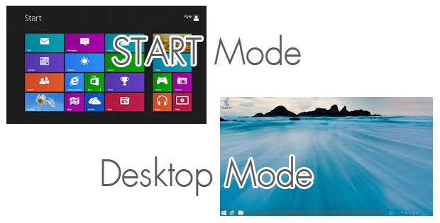 mode windows 8