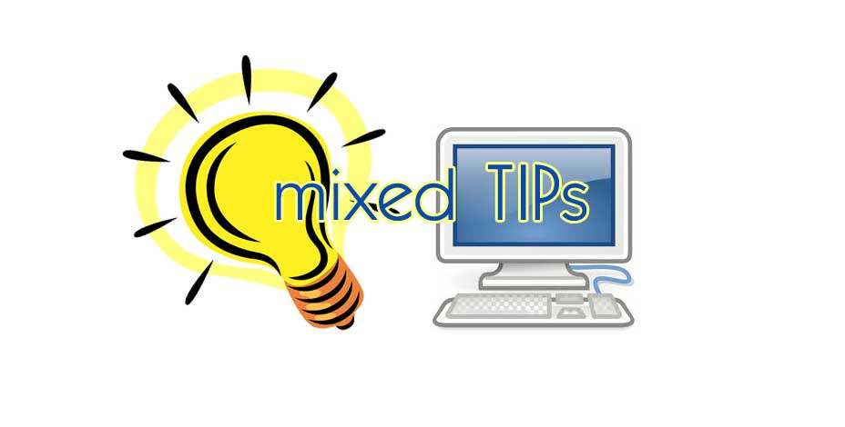 computer mixed tips