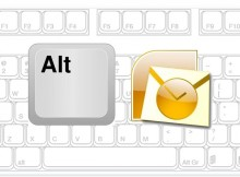 keyboard shortcut outlook