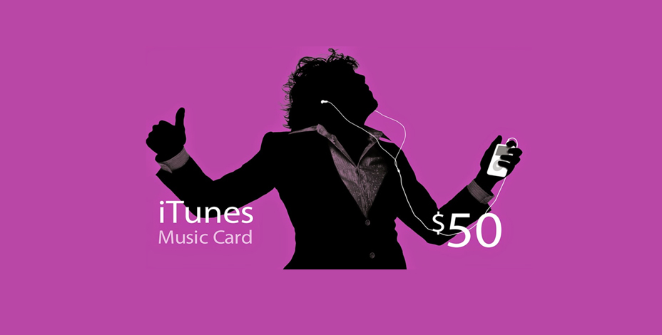 itunes music card