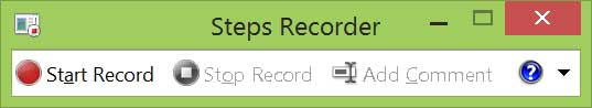 step recorder screen