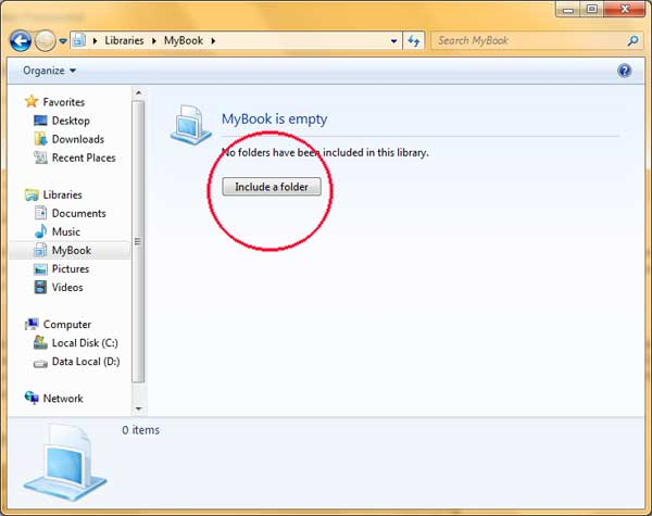 include folder library