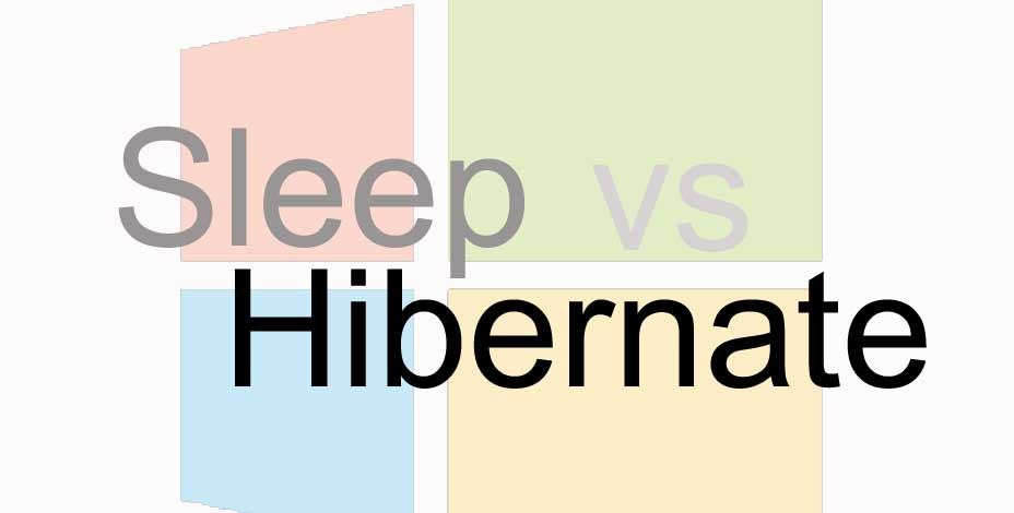sleep vs hibernate