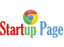 startup-page chrome