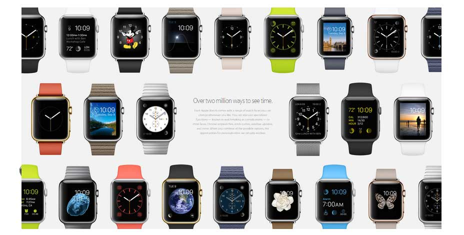 apple watch variety