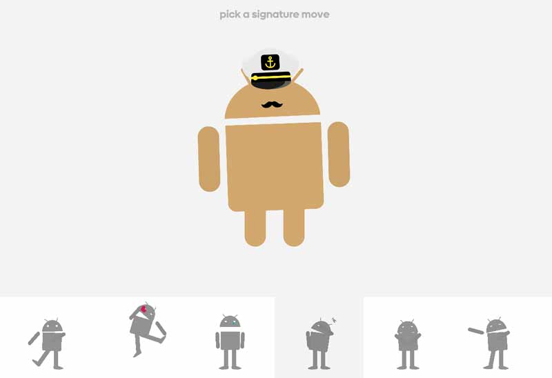 android signature move