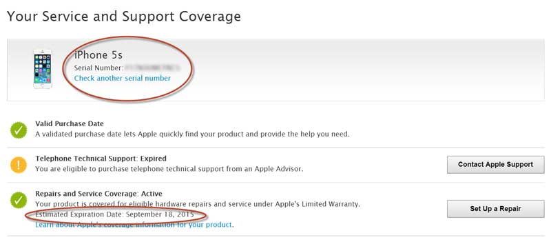 apple support coverage