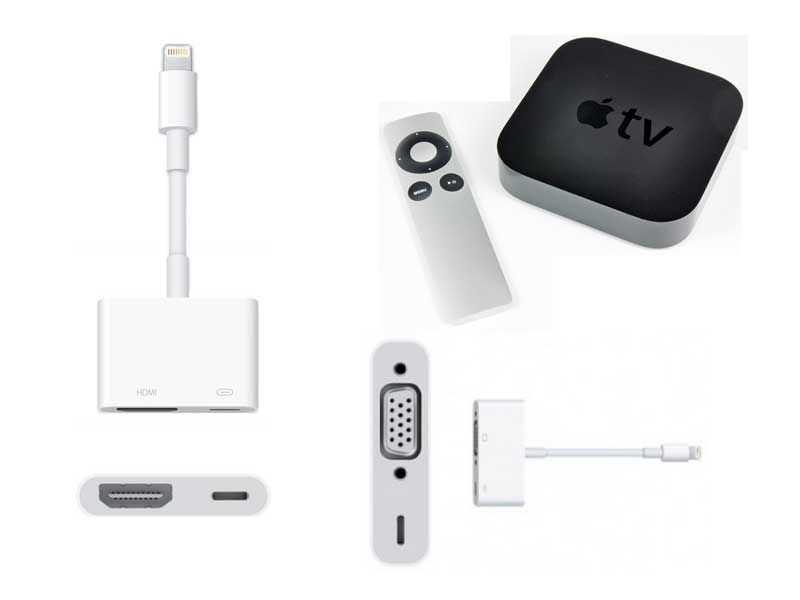 adapter iPhone to tv