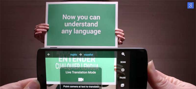 google-translate with camera