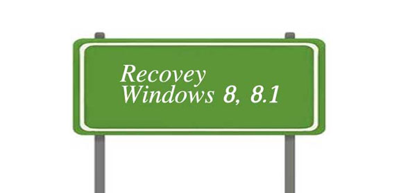 recovery Windows 8