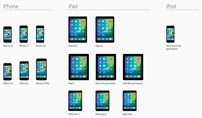 hardware for iOS9