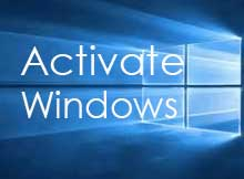 activate Windows