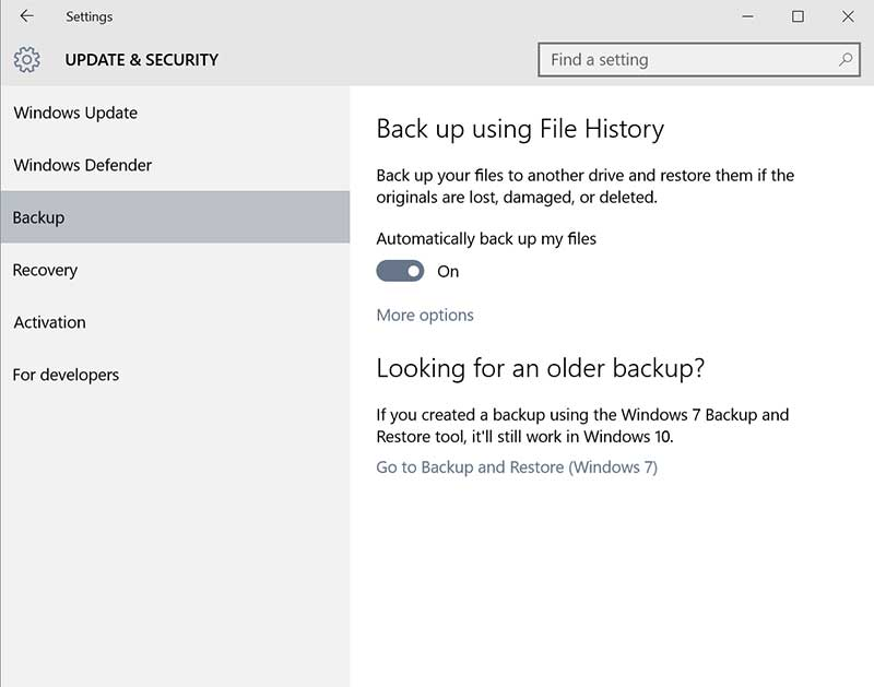 backup windows_10