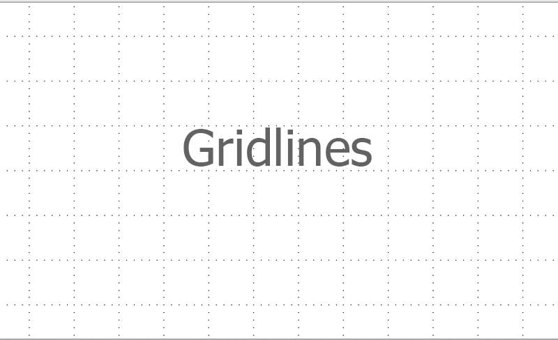 gridlines Powerpoint