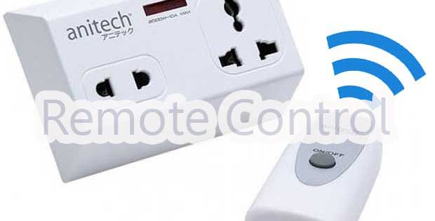 Anitech remote_control_power_plug