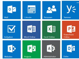 Office 365 App icons