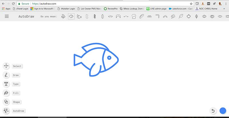 autodraw on web