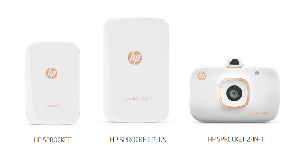 HP Sprocket 3 models