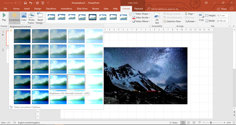 corrections PowerPoint