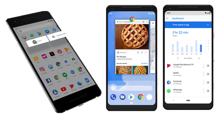 Android 9 features