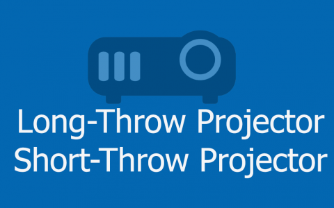 short-throw projector vs long