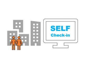 hotel self check-in